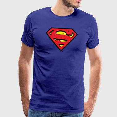 Superman Logo S-Shield vintage Snapback Cap - Premium T-skjorte for menn