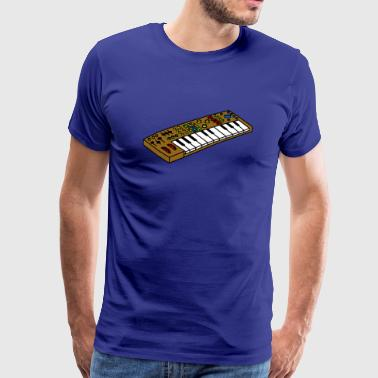 Synthesizer shirt Synthesizer - Herre premium T-shirt