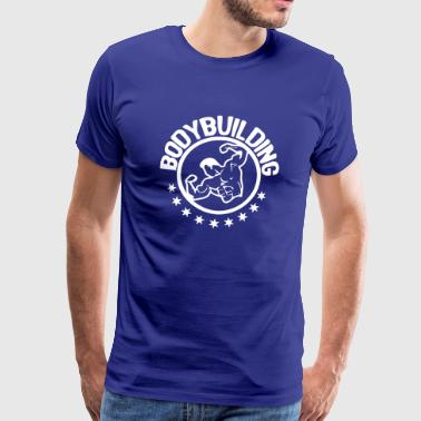 bodybuilding corps musculation2 logo club - T-shirt Premium Homme