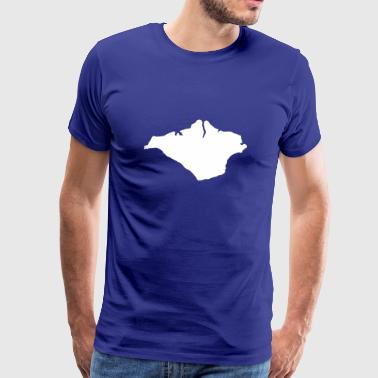 County Isle of Wight UK County - Men's Premium T-Shirt