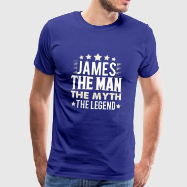 James - Männer Premium T-Shirt