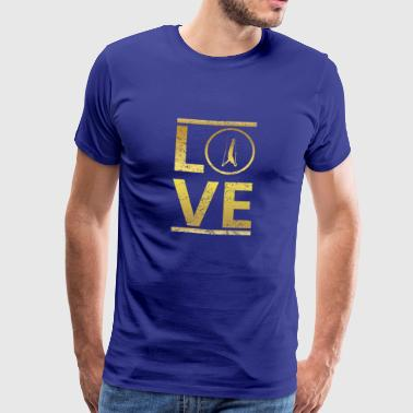 love calling professional king champion athletic triathlon - Men's Premium T-Shirt