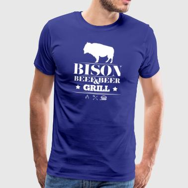 Grill · · Bison Bison Grill - T-shirt Premium Homme