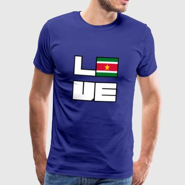 Love Home roots Wortels Suriname - Mannen Premium T-shirt