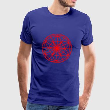 Mandala Spirit light red - Men's Premium T-Shirt