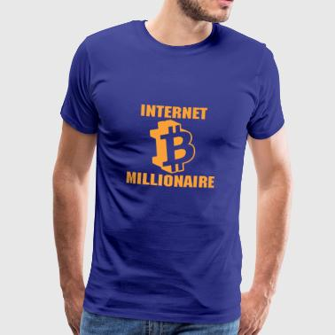 ALTCOIN CRYPTO COIN: Internet millionær - Herre premium T-shirt