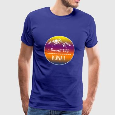 Kuwait City Kuwait - Men's Premium T-Shirt