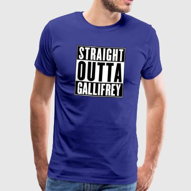 STRAIGHT OUTTA GALLIFREY - Men's Premium T-Shirt