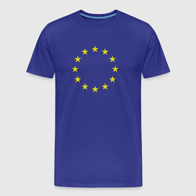 Europe | EU | stars - Men's Premium T-Shirt