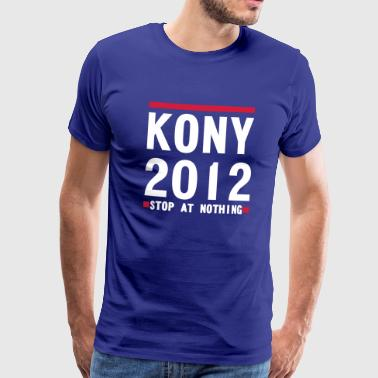 Kony 2012 KONY 2012 STOP AT NOTHING - Men's Premium T-Shirt