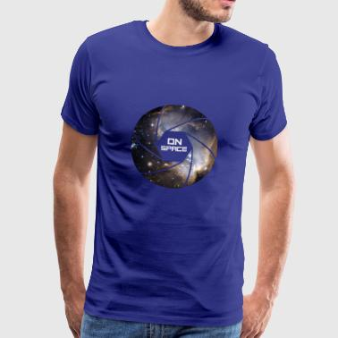Space NASA Space Astronaut stars iss future uf - Men's Premium T-Shirt