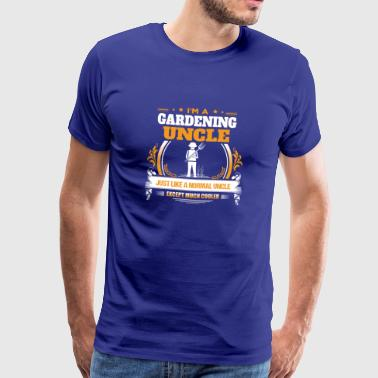 Gardening Gardening Uncle Shirt Gift Idea - Men's Premium T-Shirt