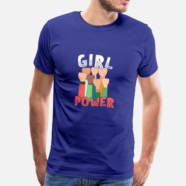 Girl Power Girl Power Great Feminist - Premium-T-shirt herr