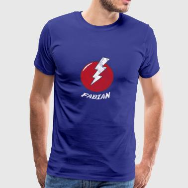 Blitz Name Shirt Superhero Superhero Fabian - Men's Premium T-Shirt