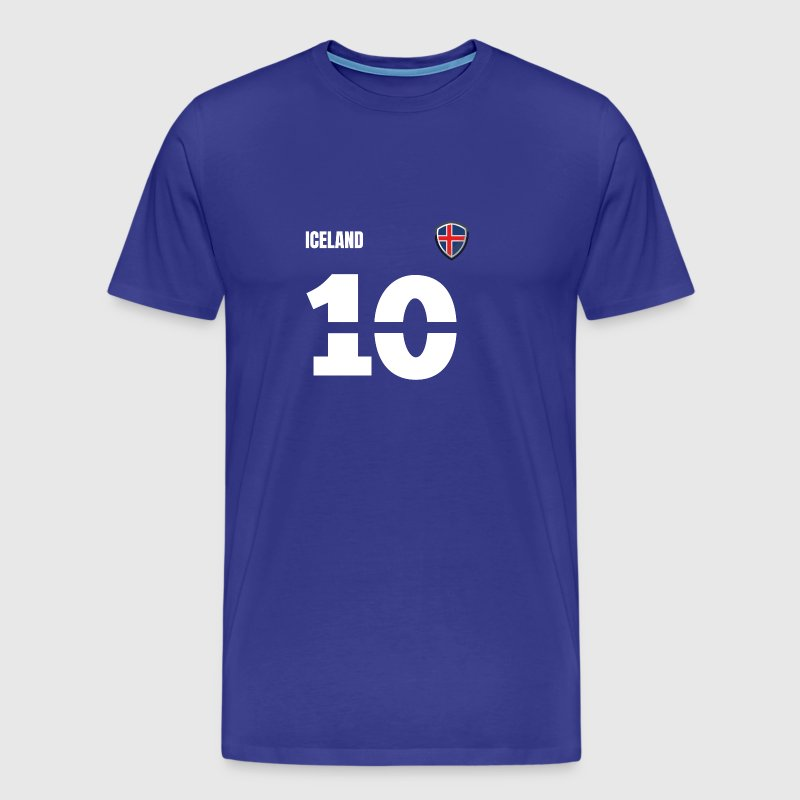 Iceland jersey retro jersey 2018 Style - Men's Premium T-Shirt