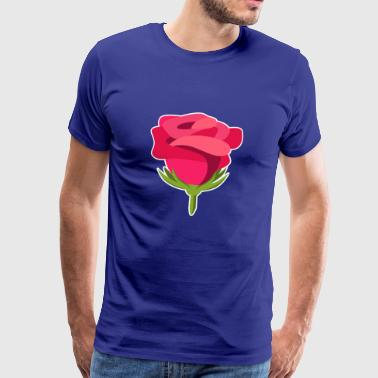 Idea del regalo di Rose Design Illustration Macro - Maglietta Premium da uomo