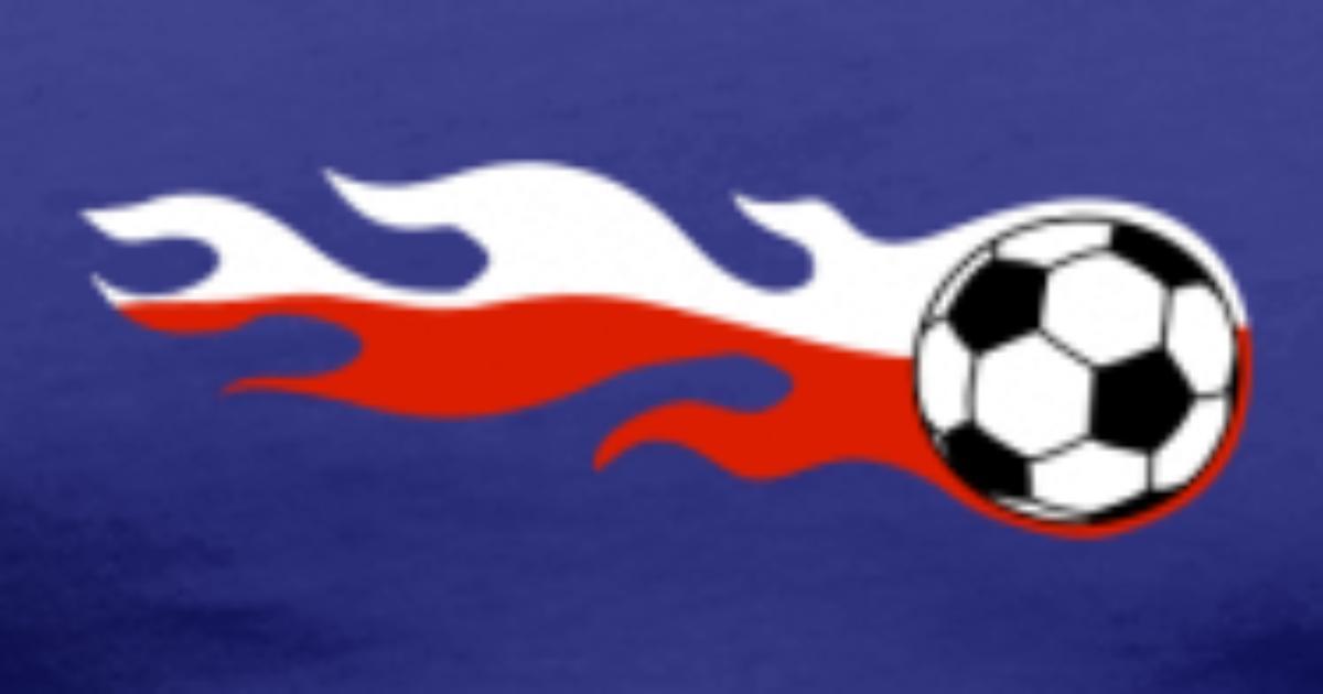 Polen Polska Fussball Flagge Feuer Fan Polnisch von kamalama ...
