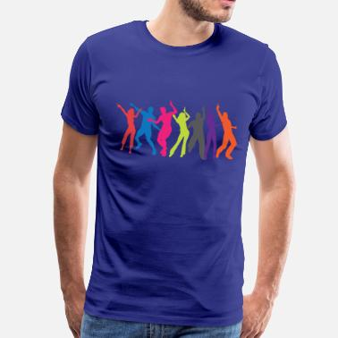 Colourful Colourful party - Mannen Premium T-shirt