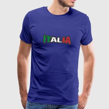 Articles de Fan d'Italia - T-shirt de fans de sports - T-shirt Premium Homme