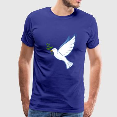 Turtle Doves Peace Dove Dove as a gift for Tiefreunde - Men's Premium T-Shirt