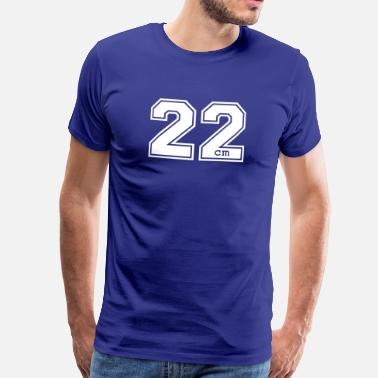 Xxl Sex 22 centimeter - Men's Premium T-Shirt