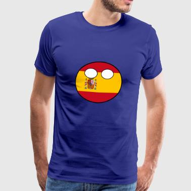 Countryball Country Home Spain - Men's Premium T-Shirt