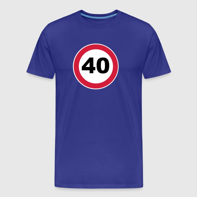 40Th birthday 40 round birthday 3 c. - Men's Premium T-Shirt