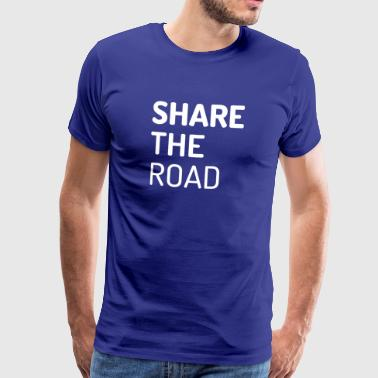 Share the Road - Männer Premium T-Shirt