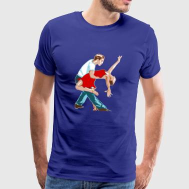 Danse de couple - T-shirt Premium Homme