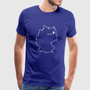 Place to be: Berlin - Mannen Premium T-shirt