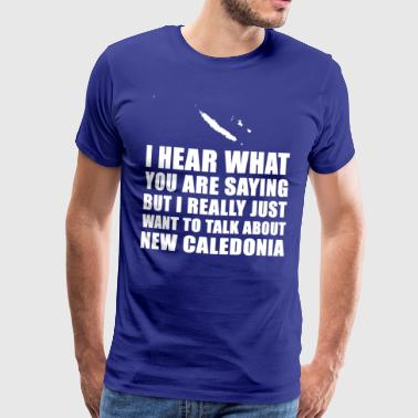 Funny New Caledonia holiday gift idea - Men's Premium T-Shirt