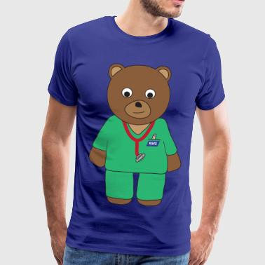 Doctor Bear - Men's Premium T-Shirt