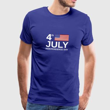 Independence Day 4th July Independence Day - Geschenkidee - Männer Premium T-Shirt