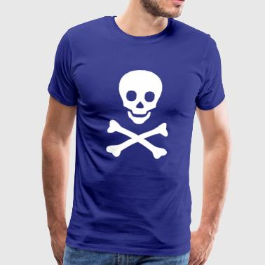 Chemistry, instruction, trains, chemical, poison, acid, hydrochloric acid, test tube, pirat, bone, head, totenkopf, spirit, ghost, Halloween  - Men's Premium T-Shirt