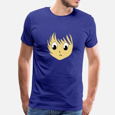 Anime Anime girlie manga girl girls 3 c. - Men's Premium T-Shirt