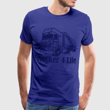 Trucker trucker © - Men's Premium T-Shirt