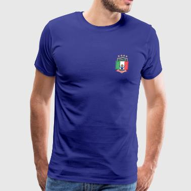 Italië Jersey Voetbal Jersey Italië 2018 voetbal - Mannen Premium T-shirt