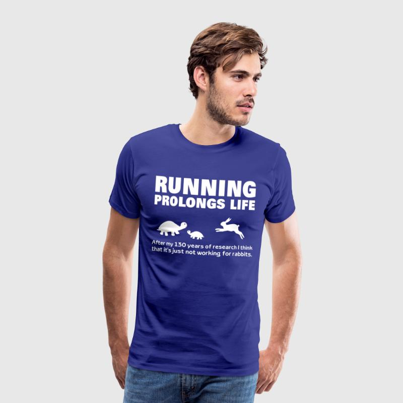 Running  fitness Road Running Cross Country - Men's Premium T-Shirt