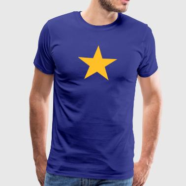 I am a Europe Star! EU, European Union, T-Shirts - Men's Premium T-Shirt