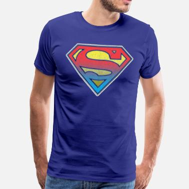 Kent DC Comics Originals Superman Retro Logo - Mannen Premium T-shirt