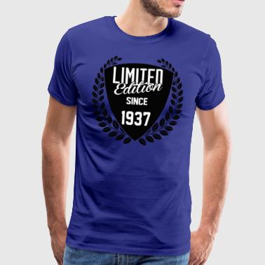 Limited Edition 1937 Limited Edition Since 1937 - Men's Premium T-Shirt