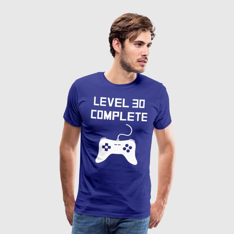 Level 30 Complete - Mannen Premium T-shirt