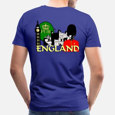 Double Decker Bus Double Decker Bus London England - Men's Premium T-Shirt