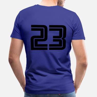 Spielernummer 23 - Men's Premium T-Shirt