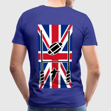 rugby logo uk - T-shirt Premium Homme
