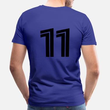 Spielernummer 11 - Men's Premium T-Shirt