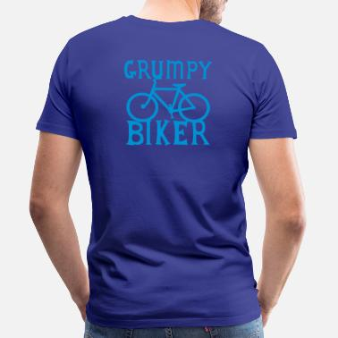 Grumpy Bike GRUMPY BIKER bicycle funny cycling - Men's Premium T-Shirt