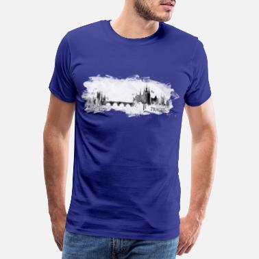 Hong Kong Prague - Men's Premium T-Shirt