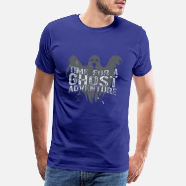 Adventures Time for ghost hunting adventure with ghost shirt - Men's Premium T-Shirt