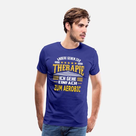 zum aerobic m nner premium t shirt spreadshirt